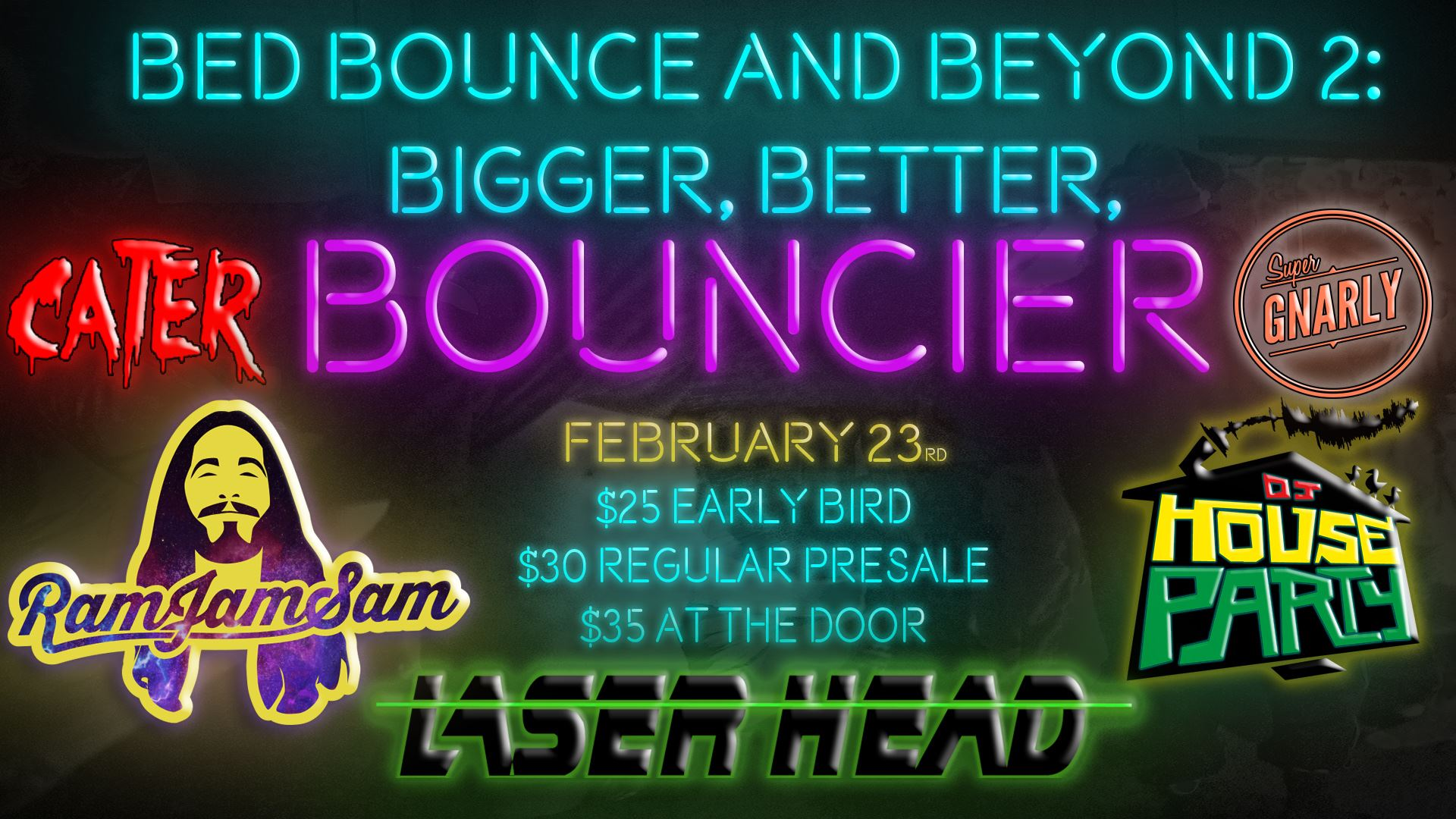 Bed Bounce and Beyond 2: Bigger, Better and Bouncier
