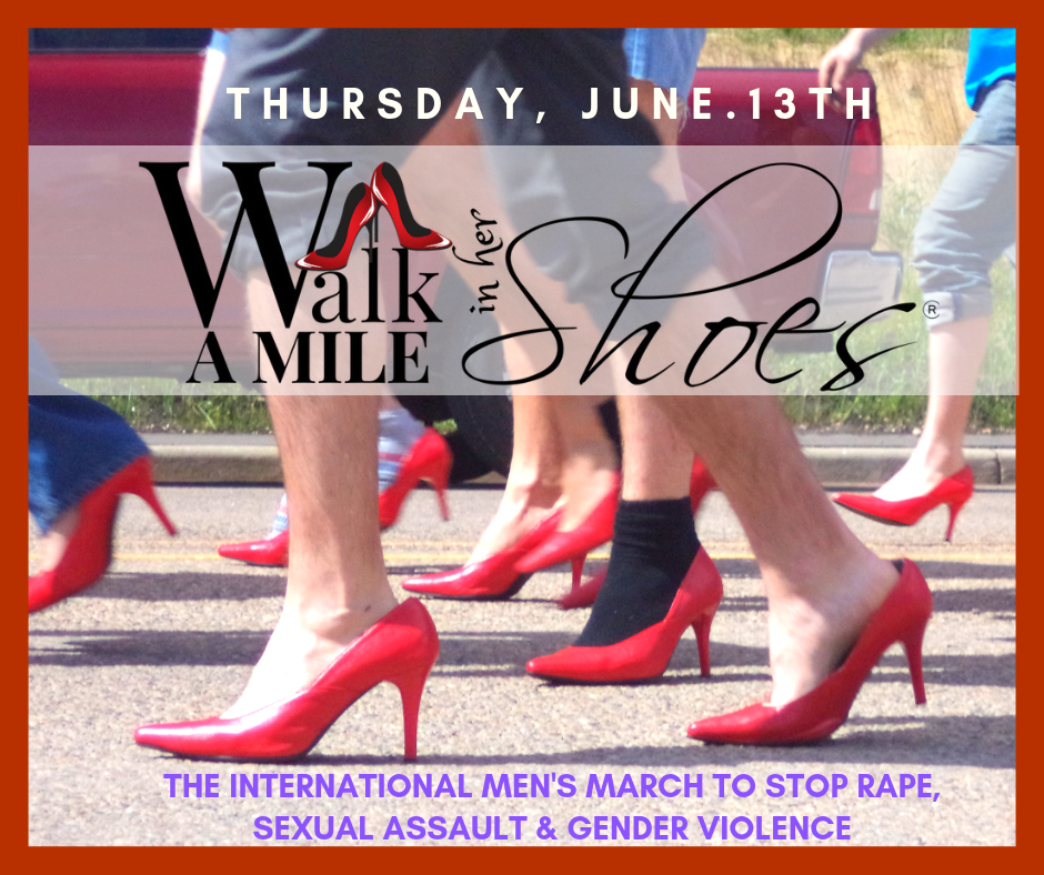 8th Annual Walk a Mile In Her Shoes In Support of The Outreach Centre (Women's Outreach)