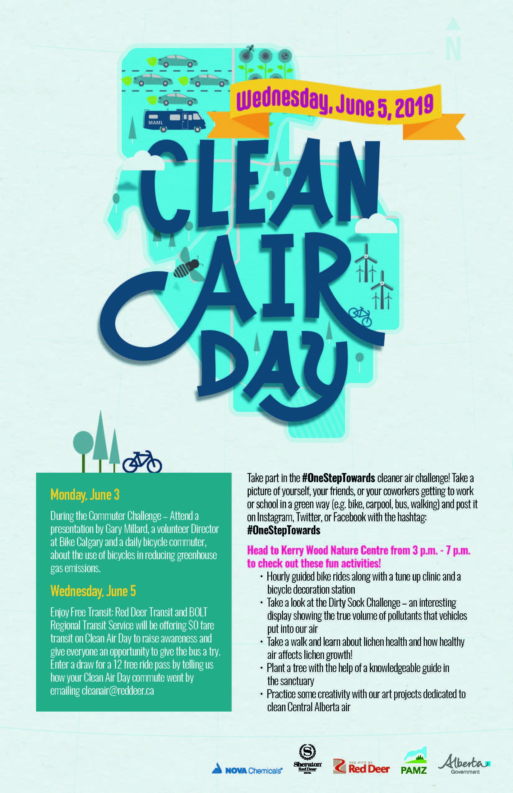 Clean Air Day @ Kerry Wood Nature Centre