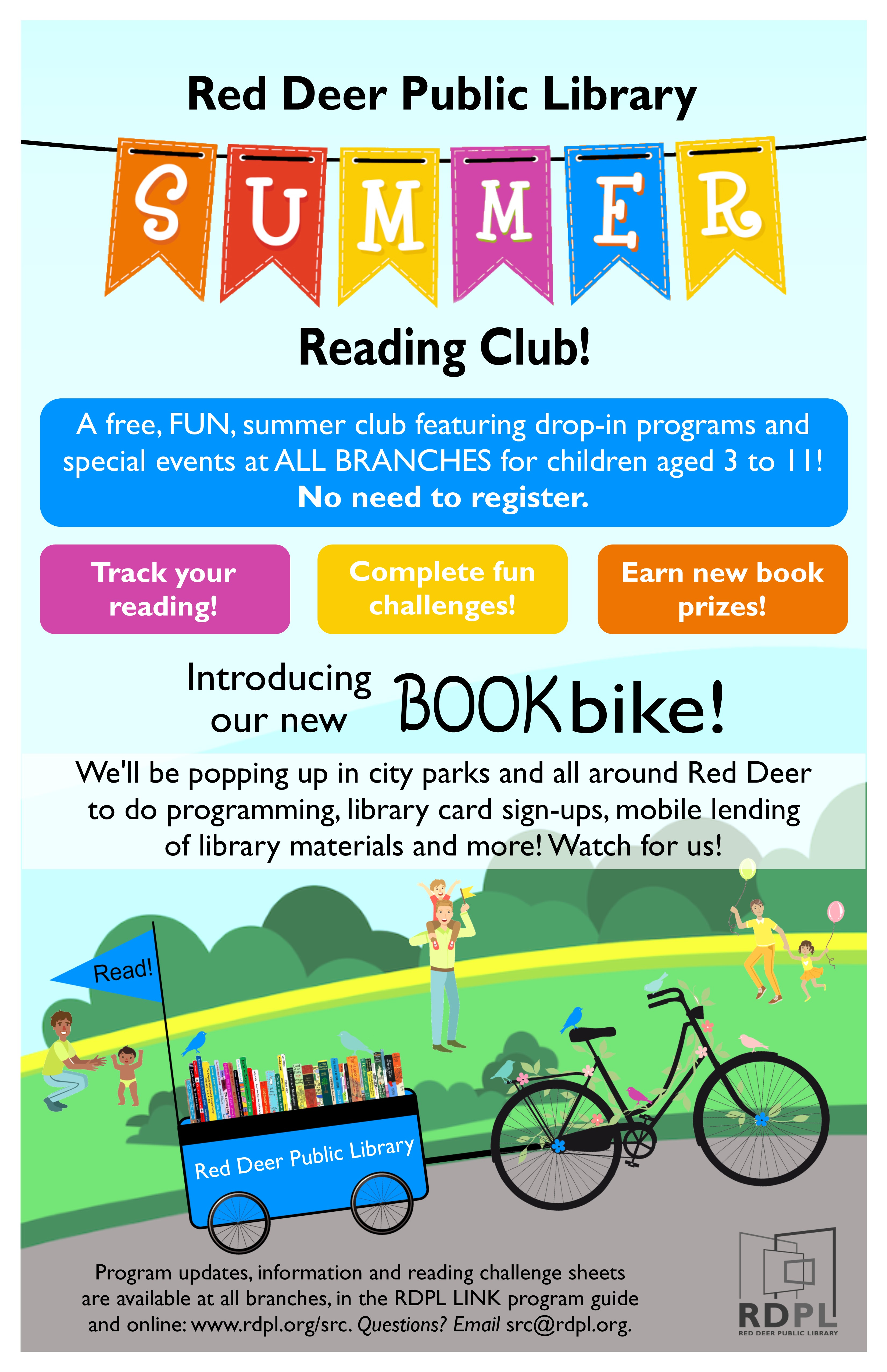 Summer Reading Club for ALL ages
