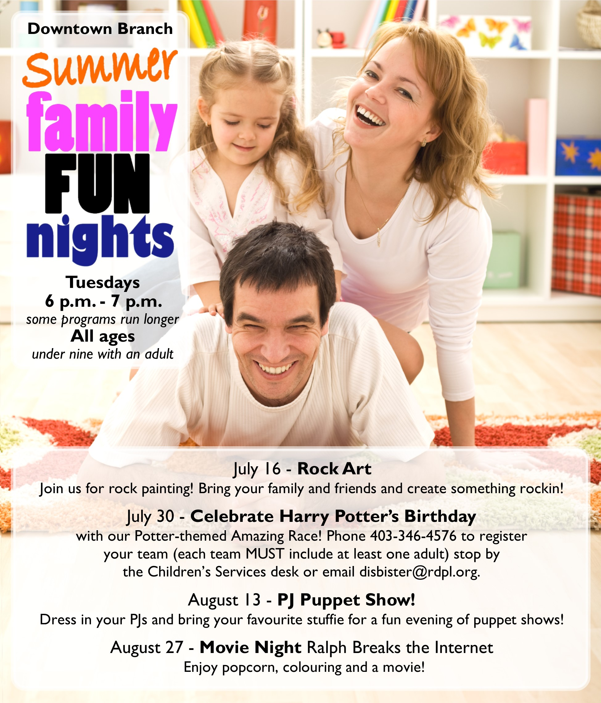 Summer Family Fun Nights