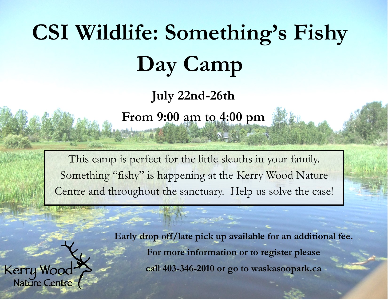 CSI Wildlife - Something's Fishy Day Camp