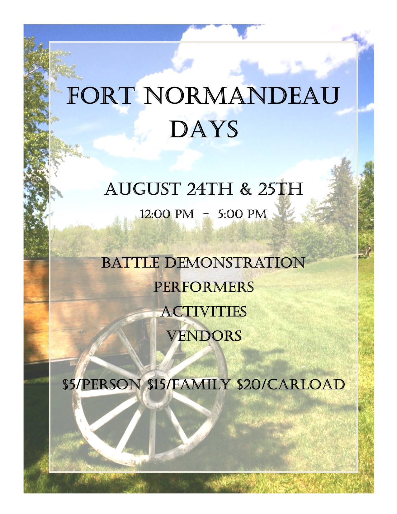 Fort Normandeau Days