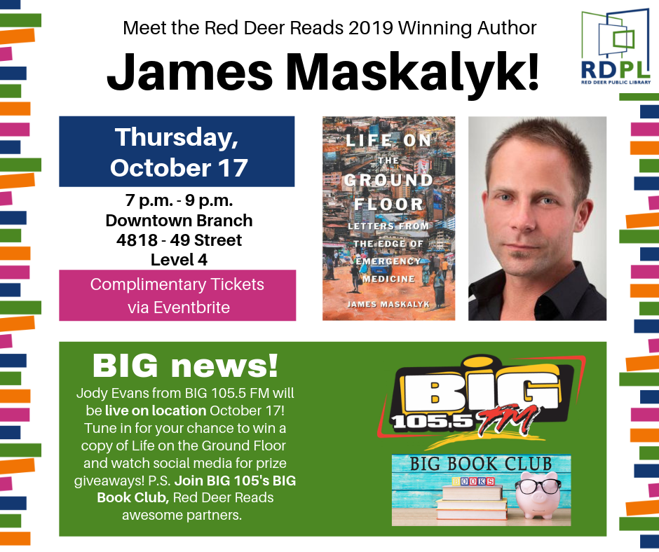 An Evening with James Maskalyk