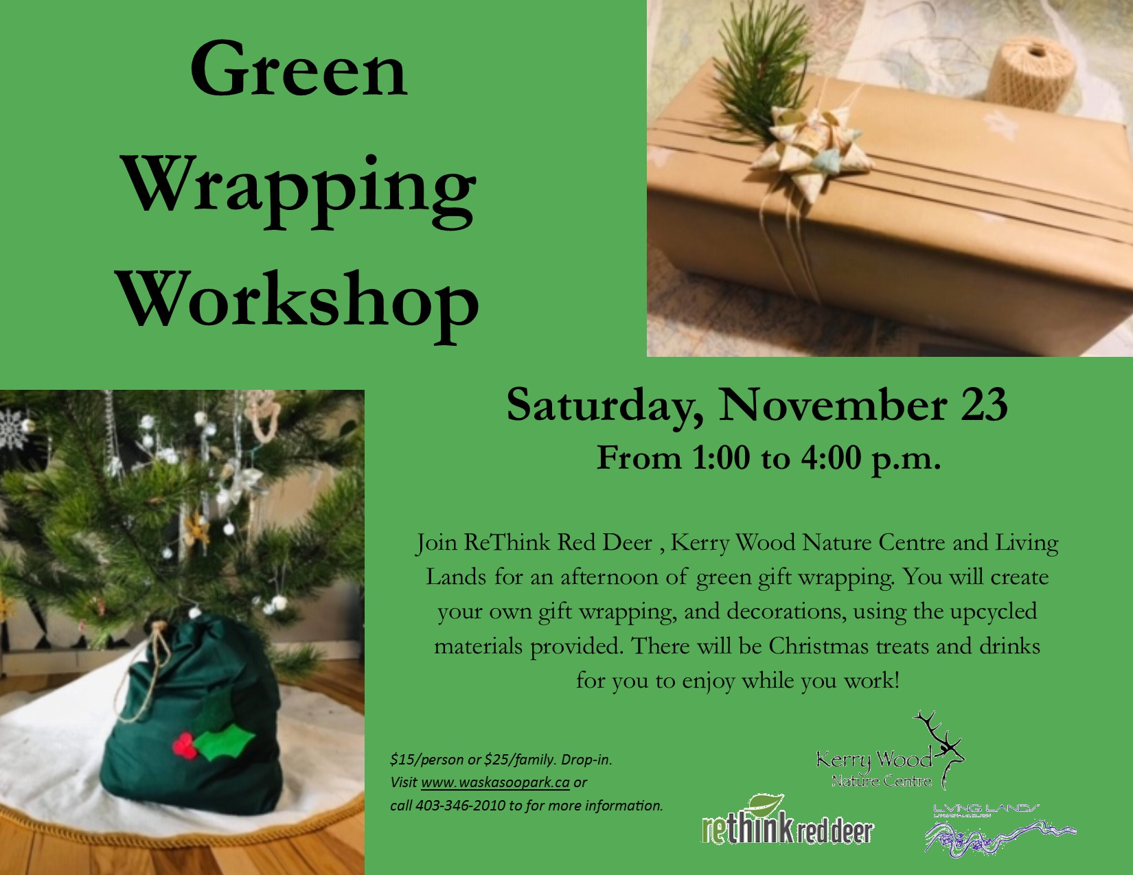 Green Wrapping Workshop
