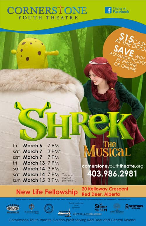 "Cornerstone Youth Theatre presents ""Shrek"""